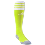 adidas Copa Zone Cushion II Sock (Neon Yellow)