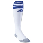 adidas Copa Zone Cushion II Sock (White/Royal)
