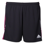 adidas Women's Squadra Short (Black/Pink)