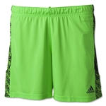 adidas Women's Squadra Short (Neon Green)
