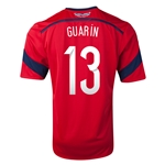 Colombia 2014 GUARIN Away Soccer Jersey