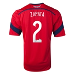 Colombia 2014 ZAPATA Away Soccer Jersey