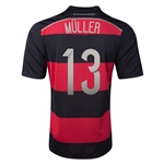 Germany 2014 MULLER Away Soccer Jersey