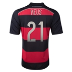 Germany 2014 REUS Away Soccer Jersey