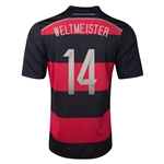 Germany 2014 WELTMEISTER Away Soccer Jersey