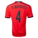Mexico 2014 R. MARQUEZ Away Soccer Jersey