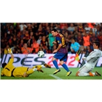 ICONS Leo Messi Signed Photo Clasico Goal
