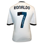 Icons Cristiano Ronaldo Signed Real Madrid Shirt