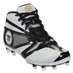 Warrior Burn 7 Junior Cleat (White/Black)