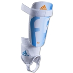 adidas F50 Replique Shinguard (White/Solar Blue)