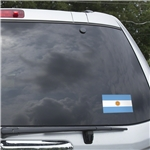 Argentina Flag Graphic Window Cling