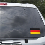 Germany Flag Graphic Window Cling