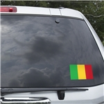 Mali Flag Graphic Window Cling