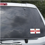 Northern Ireland Flag Graphic Window Cling