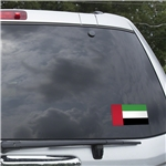 United Arab Emirates Flag Graphic Window Cling