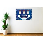 Copa America 2015 Official Bracket Graphic Wall Decal (English)