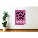 1970 FIFA World Cup Mexico Poster Wall Decal