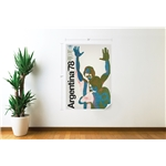 1978 FIFA World Cup Argentina Poster Wall Decal