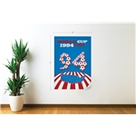 1994 FIFA World Cup USA Commemorative Poster Wall Decal