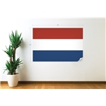 Holanda Bandera Calcomania de Pared
