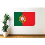 Portugal Bandera Calcomania de Pared