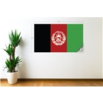Afghanistan Flag Wall Decal Flag Wall Decal