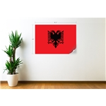 Albania Flag Wall Decal Flag Wall Decal