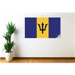 Barbados Flag Wall Decal