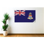 Cayman Islands Flag Wall Decal