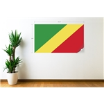 Congo Flag Wall Decal