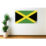 Jamaica Bandera Calcomania de Pared