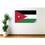 Jordan Flag Wall Decal