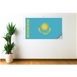 Kazakhstan Flag Wall Decal