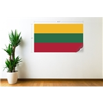 Lithuania Flag Wall Decal