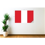 Peru Flag Wall Decal