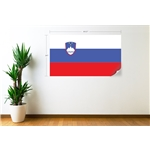 Slovenia Flag Wall Decal