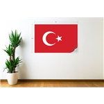 Turkey Flag Wall Decal