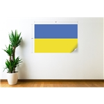 Ukraine Flag Wall Decal