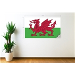 Wales Flag Wall Decal