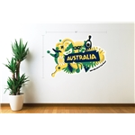 Australia 2014 FIFA World Cup Celebration Wall Decal