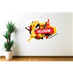 Belgium 2014 FIFA World Cup Celebration Wall Decal