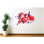 Chile 2014 FIFA World Cup Celebration Wall Decal