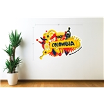 Colombia 2014 FIFA World Cup Celebration Wall Decal