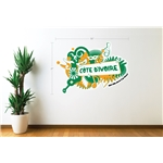 Cote d'Ivoire 2014 FIFA World Cup Celebration Wall Decal