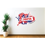 Croatia 2014 FIFA World Cup Celebration Wall Decal