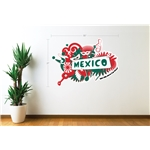 Mexico 2014 FIFA World Cup Celebration Wall Decal