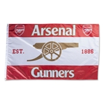 Arsenal EST 1886 Gunner Flag