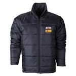 Spain Flag Crest Polyfill Puffer Jacket