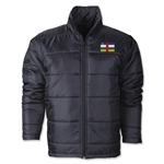 Central African Republic Flag Polyfill Puffer Jacket