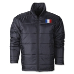 France Flag Polyfill Puffer Jacket